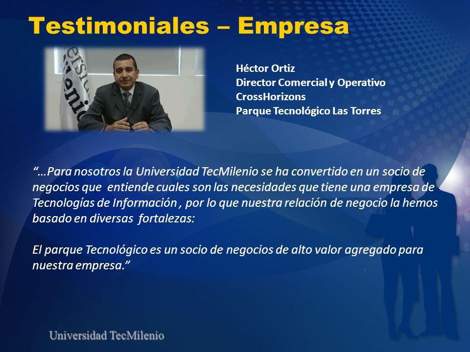 Testimoniales – Empresa