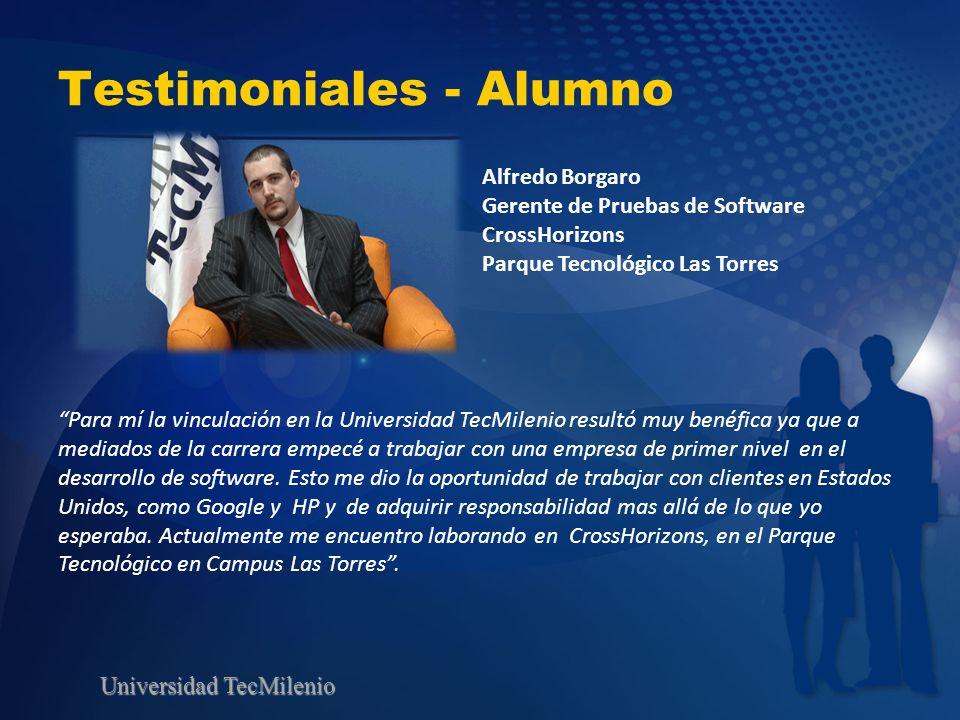 Testimoniales - Alumno