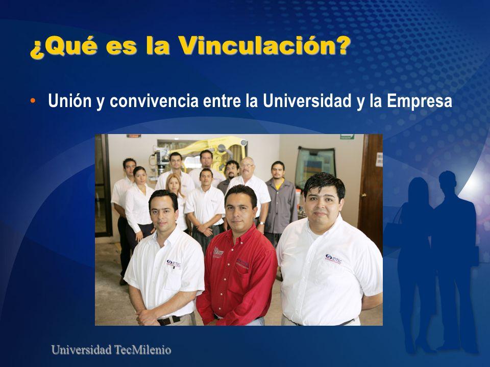 ¿Qué es la Vinculación Unión y convivencia entre la Universidad y la Empresa