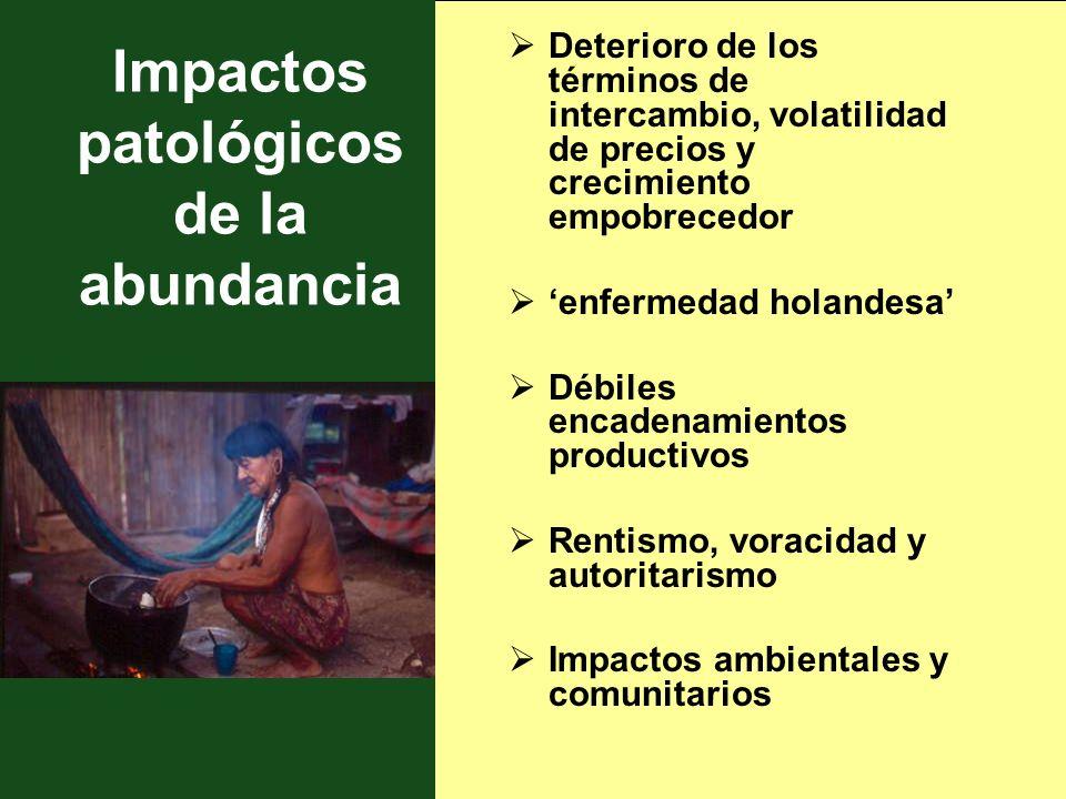 Impactos patológicos de la abundancia