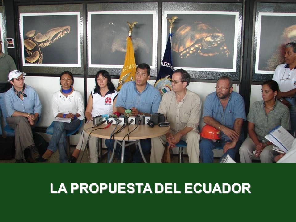 LA PROPUESTA DEL ECUADOR