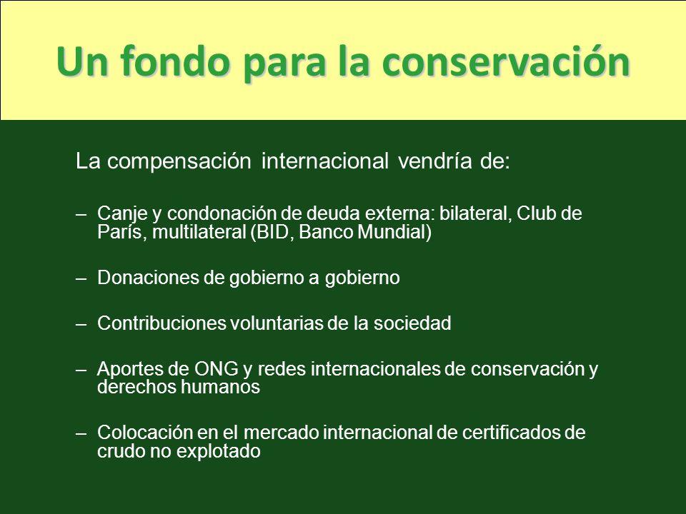 Un fondo para la conservación