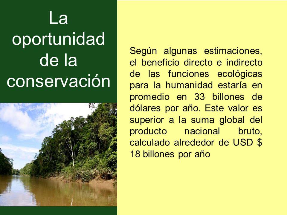 La oportunidad de la conservación