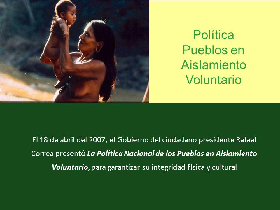Política Pueblos en Aislamiento Voluntario