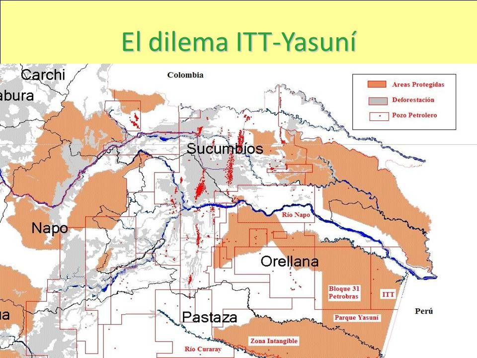 El dilema ITT-Yasuní