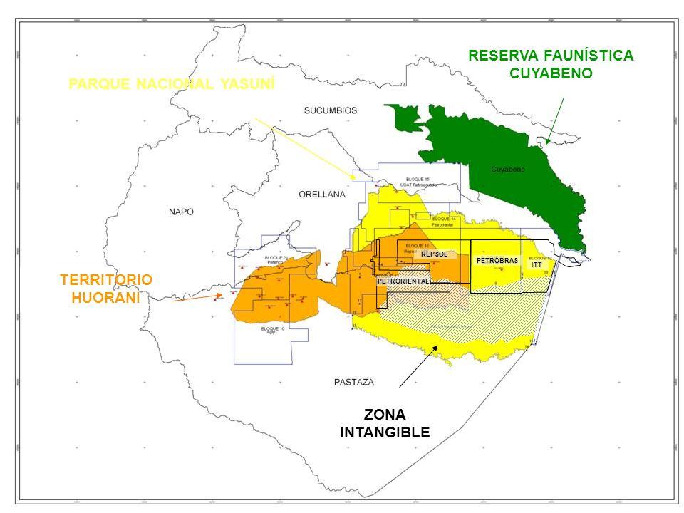 PARQUE NACIONAL YASUNÍ RESERVA FAUNÍSTICA CUYABENO