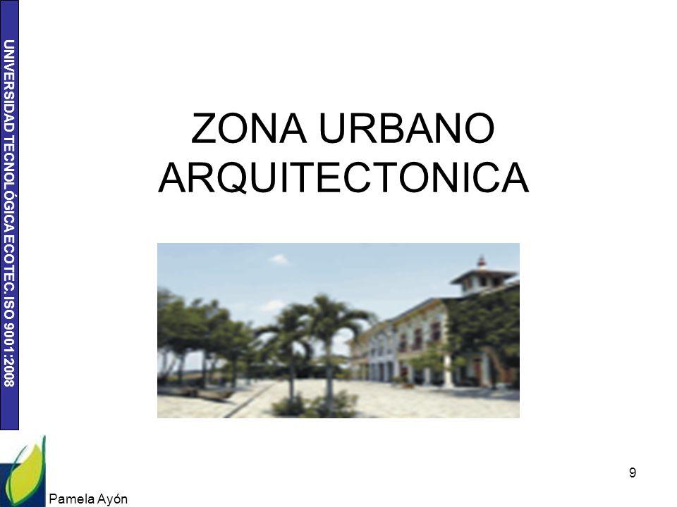 ZONA URBANO ARQUITECTONICA