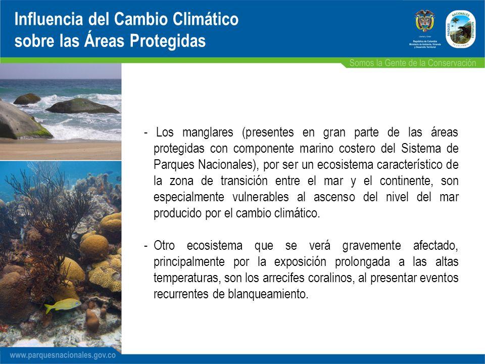 Influencia del Cambio Climático sobre las Áreas Protegidas