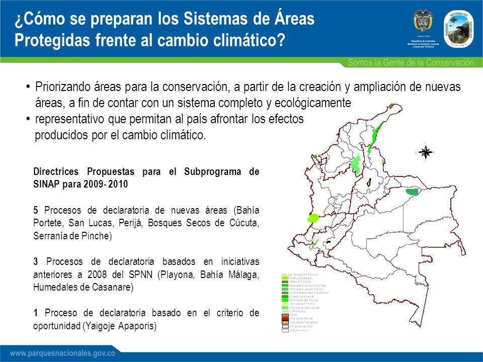 ¿Cómo se preparan los Sistemas de Áreas Protegidas frente al cambio climático