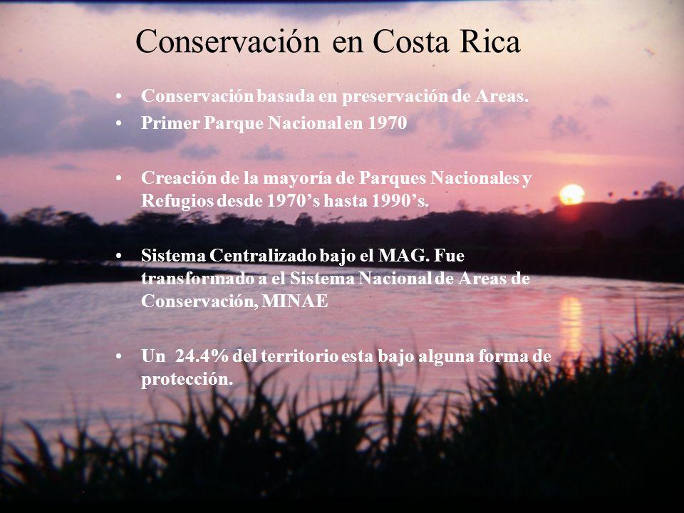 Conservación en Costa Rica