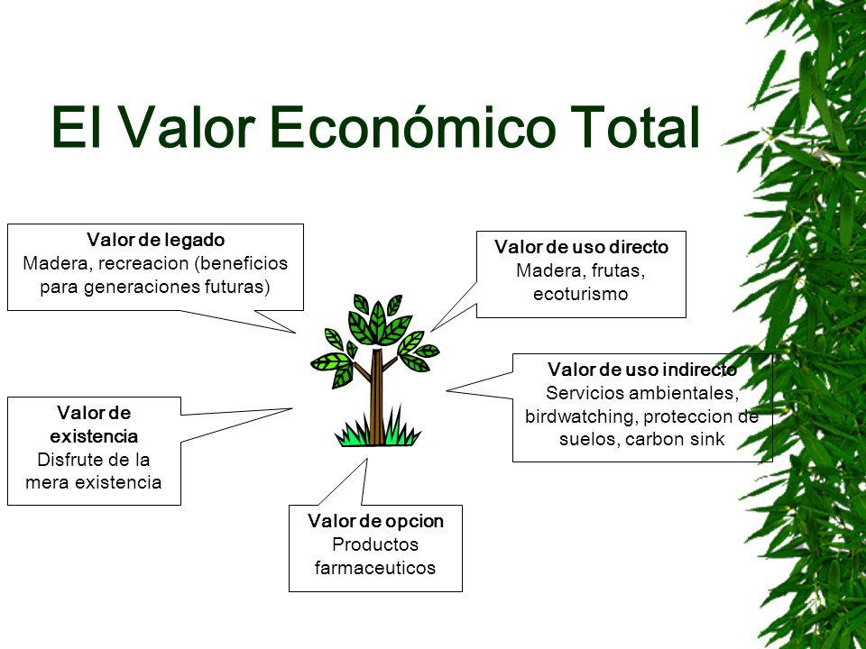 El Valor Económico Total