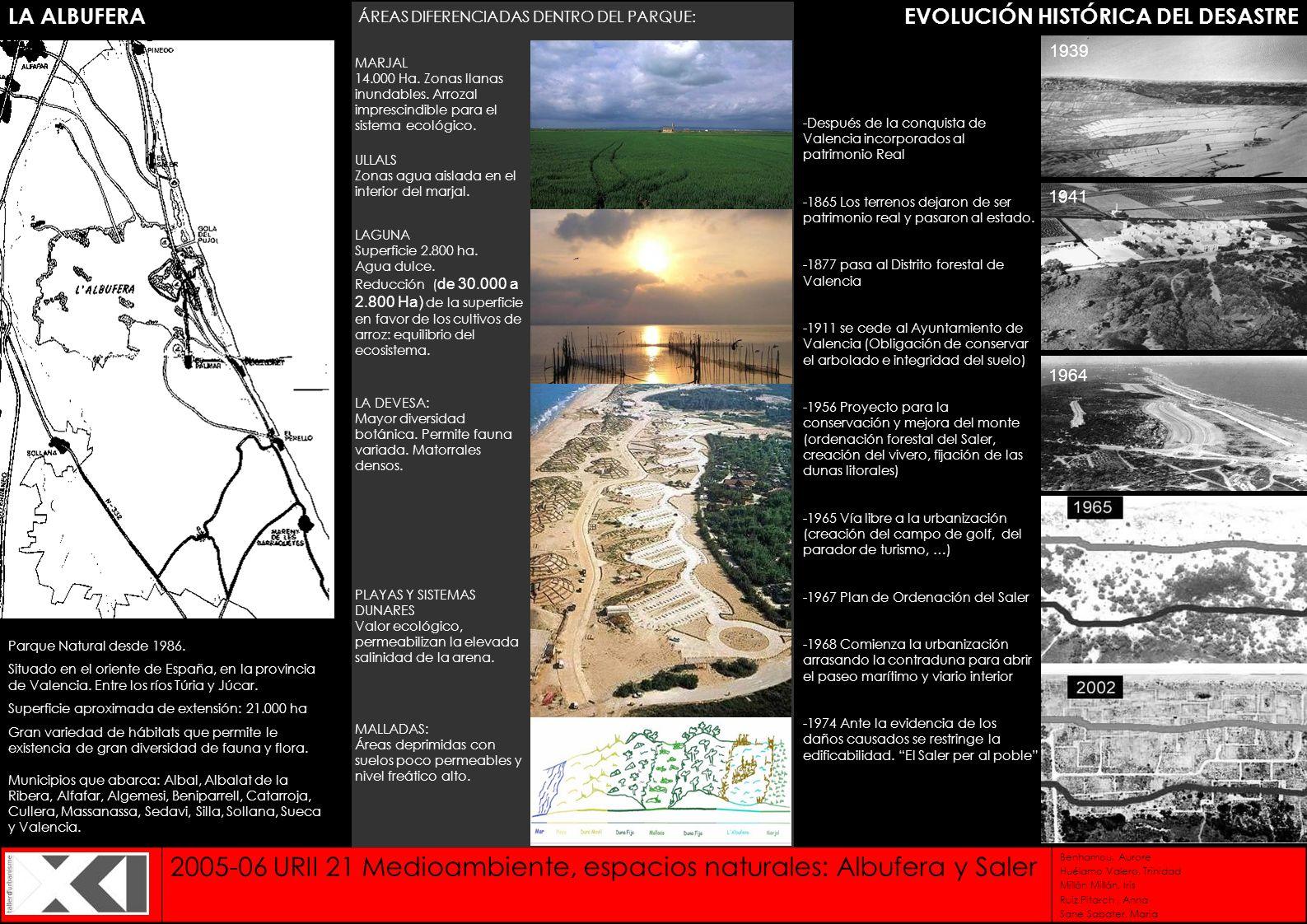 EVOLUCIÓN HISTÓRICA DEL DESASTRE
