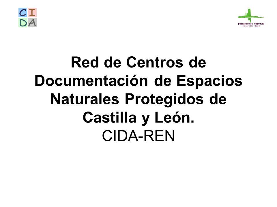 Red de Centros de Documentación de Espacios Naturales Protegidos de Castilla y León. CIDA-REN