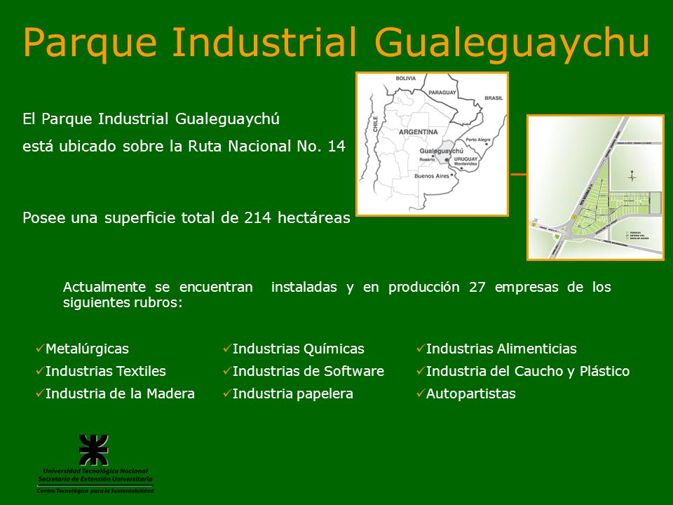 Parque Industrial Gualeguaychu