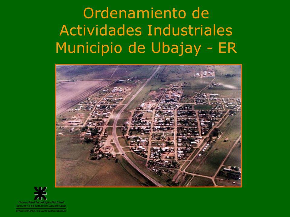 Actividades Industriales Municipio de Ubajay - ER