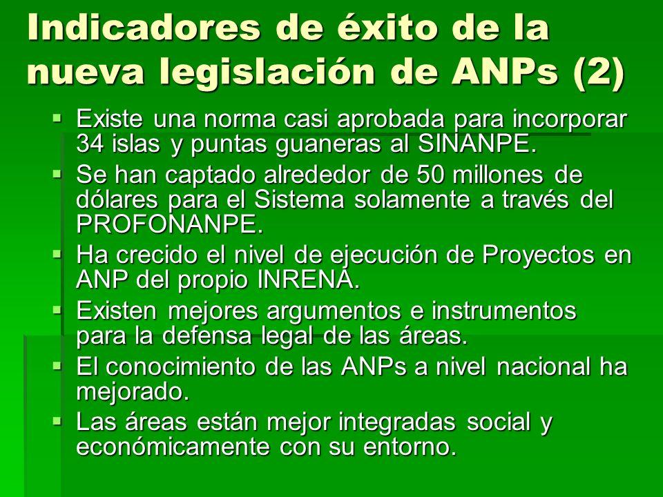 Indicadores de éxito de la nueva legislación de ANPs (2)