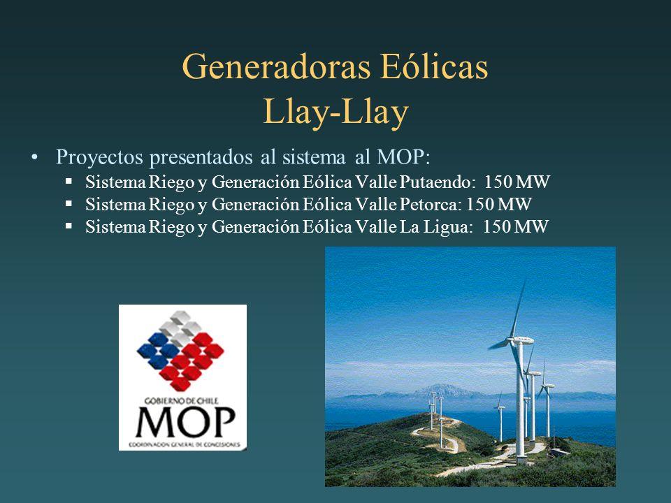 Generadoras Eólicas Llay-Llay