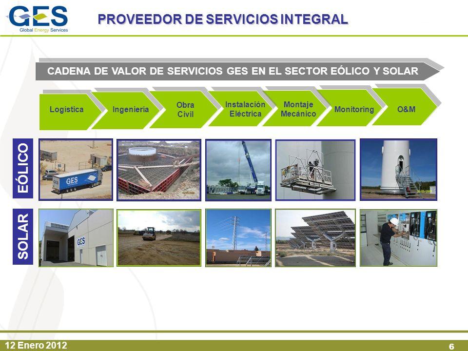 PROVEEDOR DE SERVICIOS INTEGRAL EÓLICO SOLAR