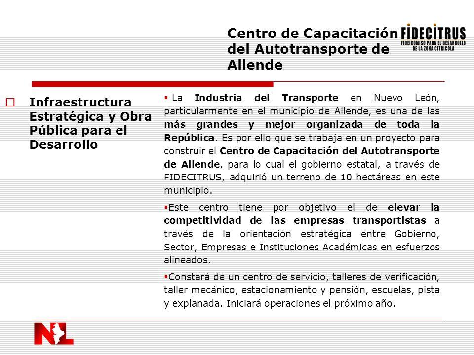 Centro de Capacitación del Autotransporte de Allende