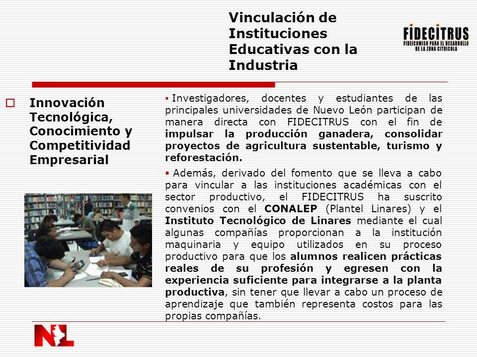 Vinculación de Instituciones Educativas con la Industria