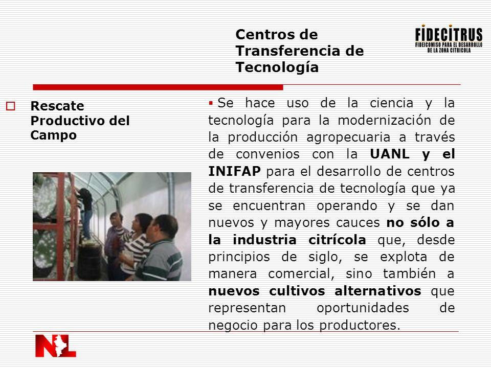 Centros de Transferencia de Tecnología