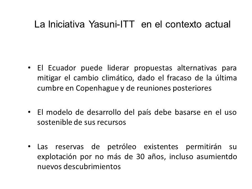 La Iniciativa Yasuni-ITT en el contexto actual