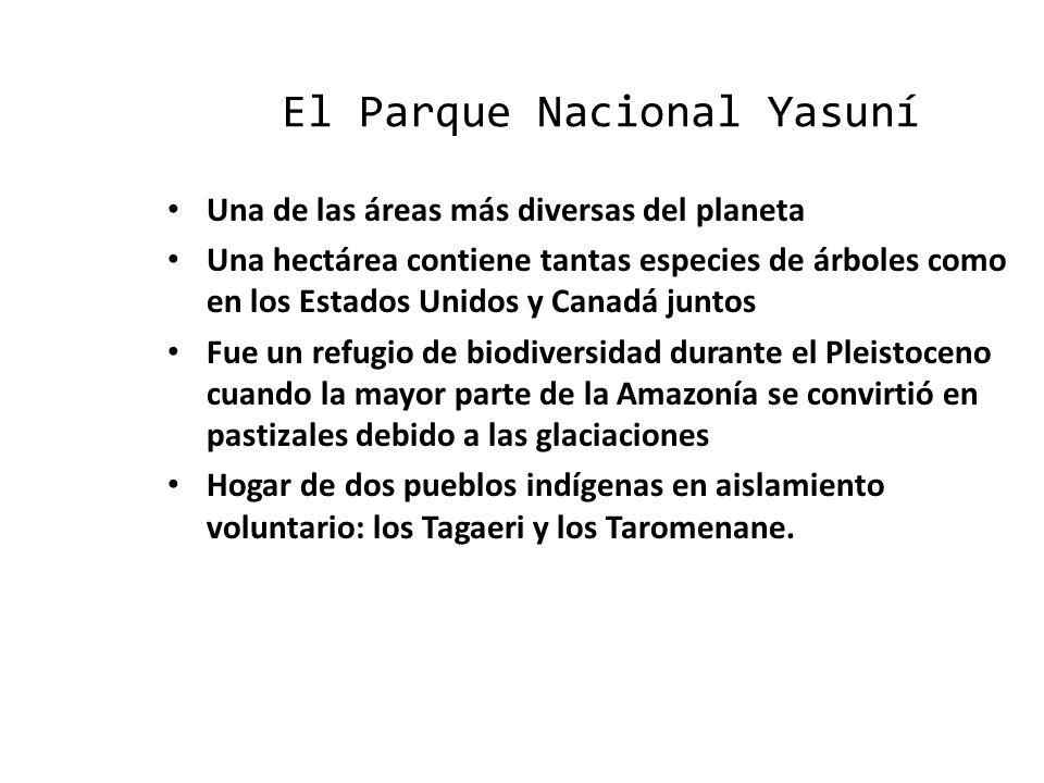 El Parque Nacional Yasuní