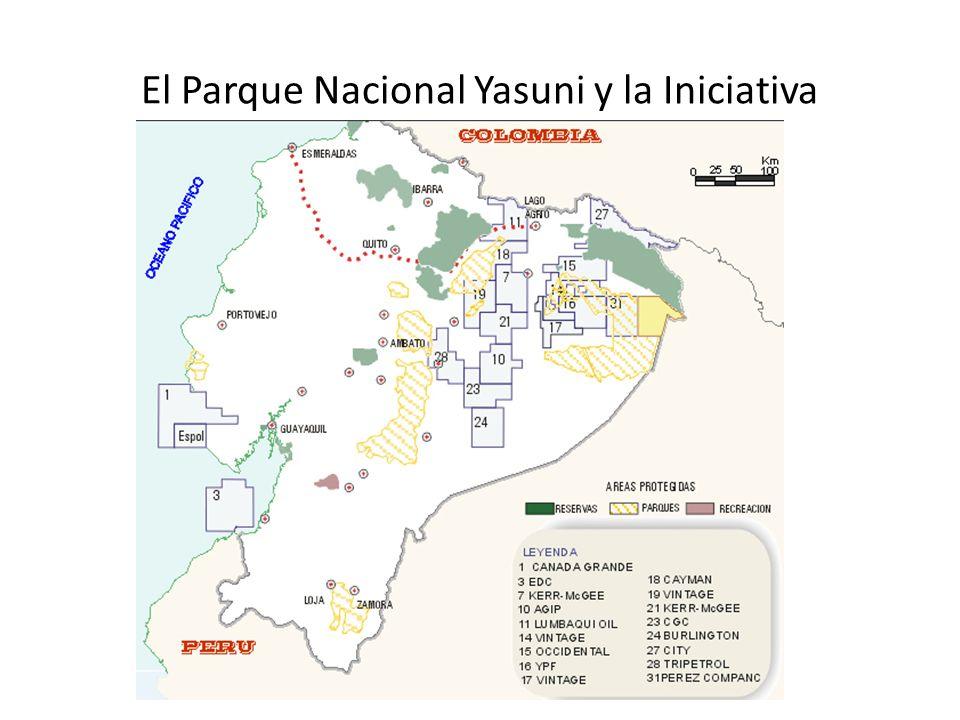 El Parque Nacional Yasuni y la Iniciativa