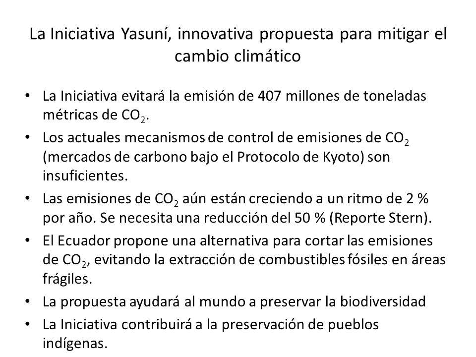 La Iniciativa Yasuní, innovativa propuesta para mitigar el cambio climático