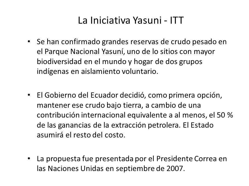 La Iniciativa Yasuni - ITT