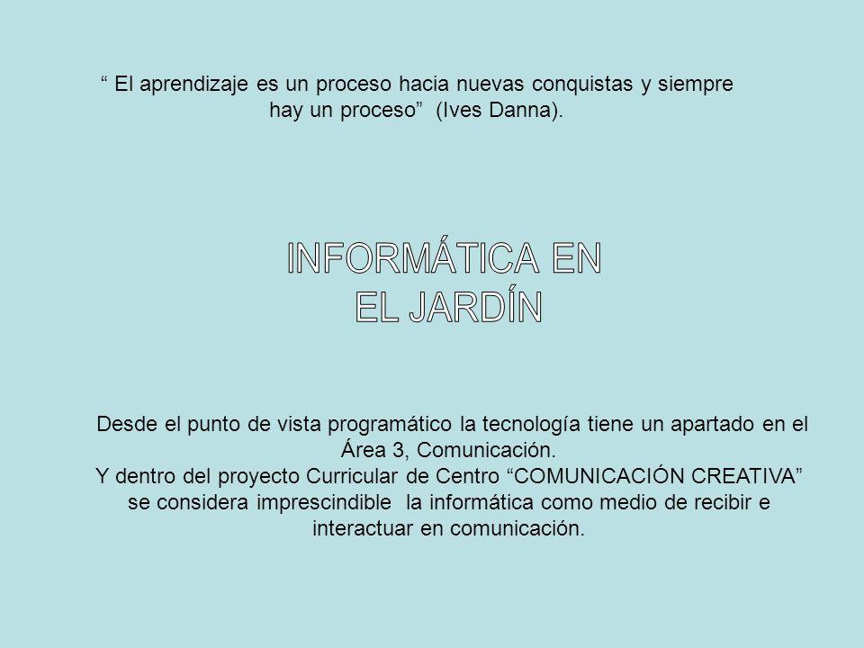 INFORMÁTICA EN EL JARDÍN