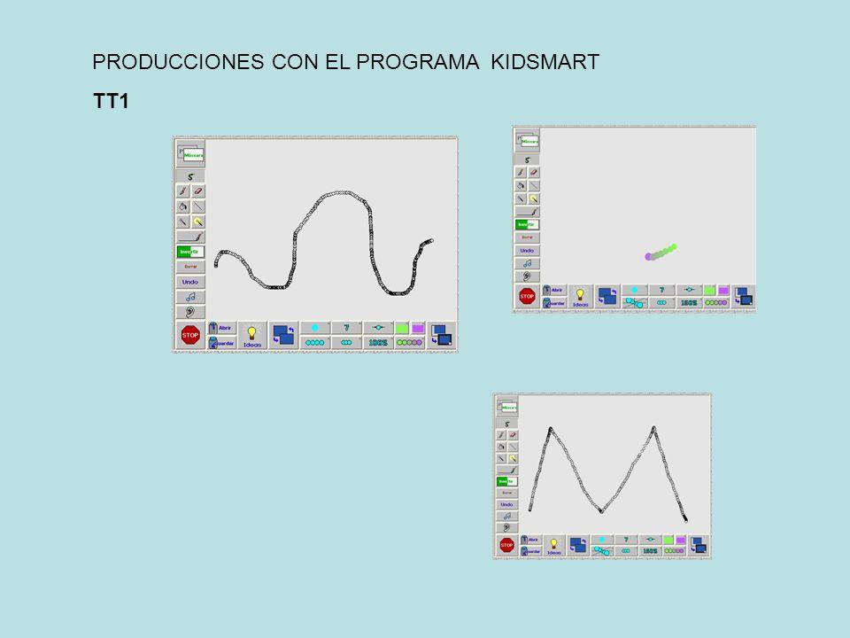 PRODUCCIONES CON EL PROGRAMA KIDSMART