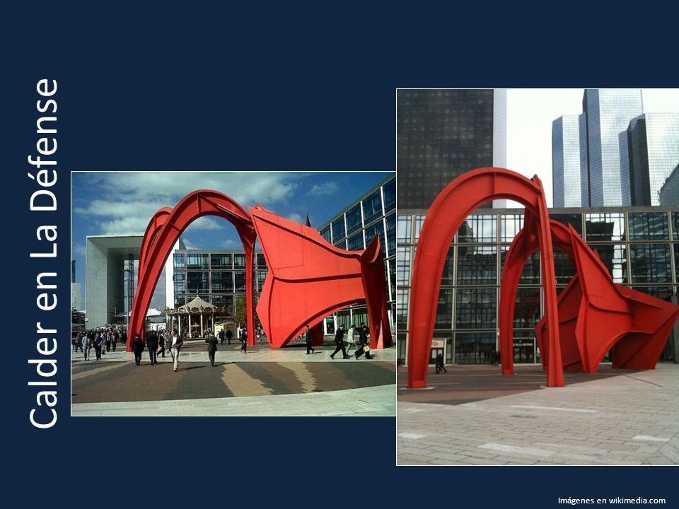 Calder en La Défense Imágenes en wikimedia.com