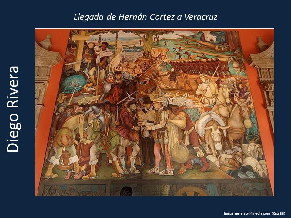 Llegada de Hernán Cortez a Veracruz