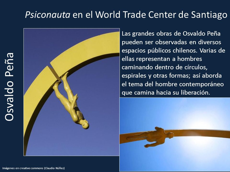 Psiconauta en el World Trade Center de Santiago