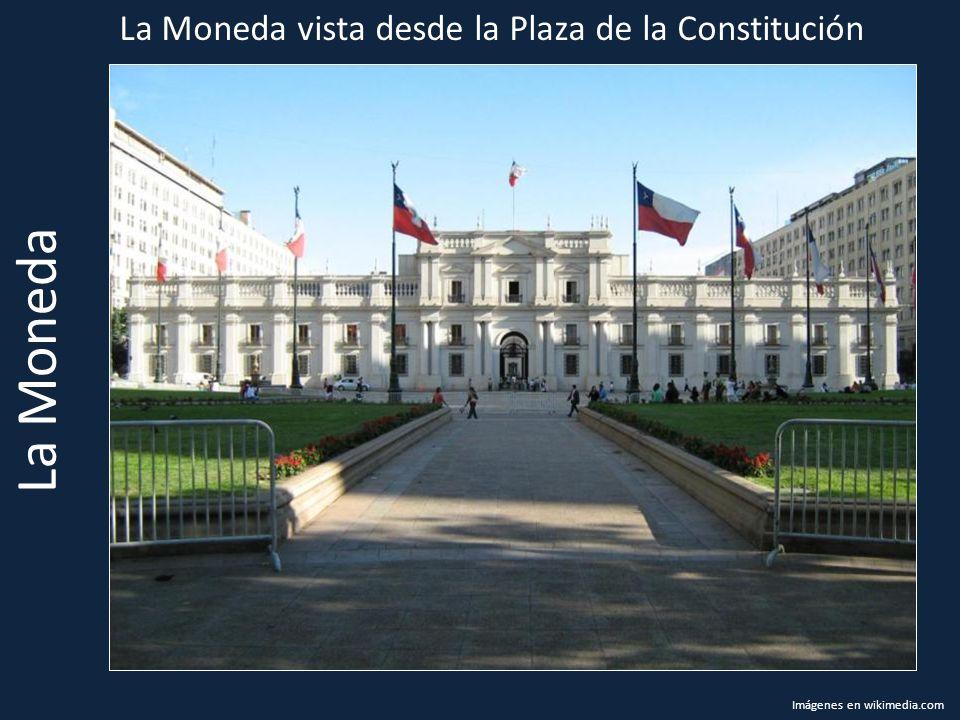 La Moneda La Moneda vista desde la Plaza de la Constitución