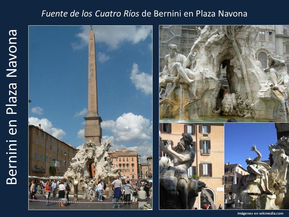 Bernini en Plaza Navona