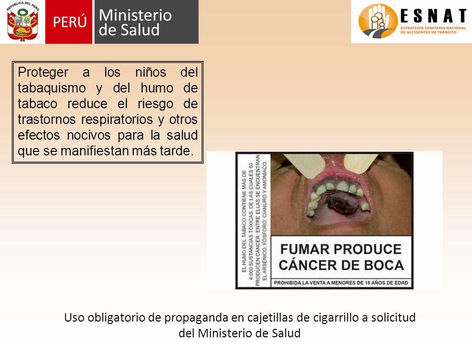 Proteger a los niños del tabaquismo y del humo de tabaco reduce el riesgo de trastornos respiratorios y otros efectos nocivos para la salud que se manifiestan más tarde.
