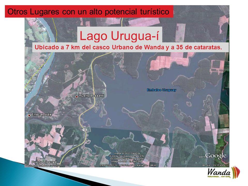 Lago Urugua-í Otros Lugares con un alto potencial turístico