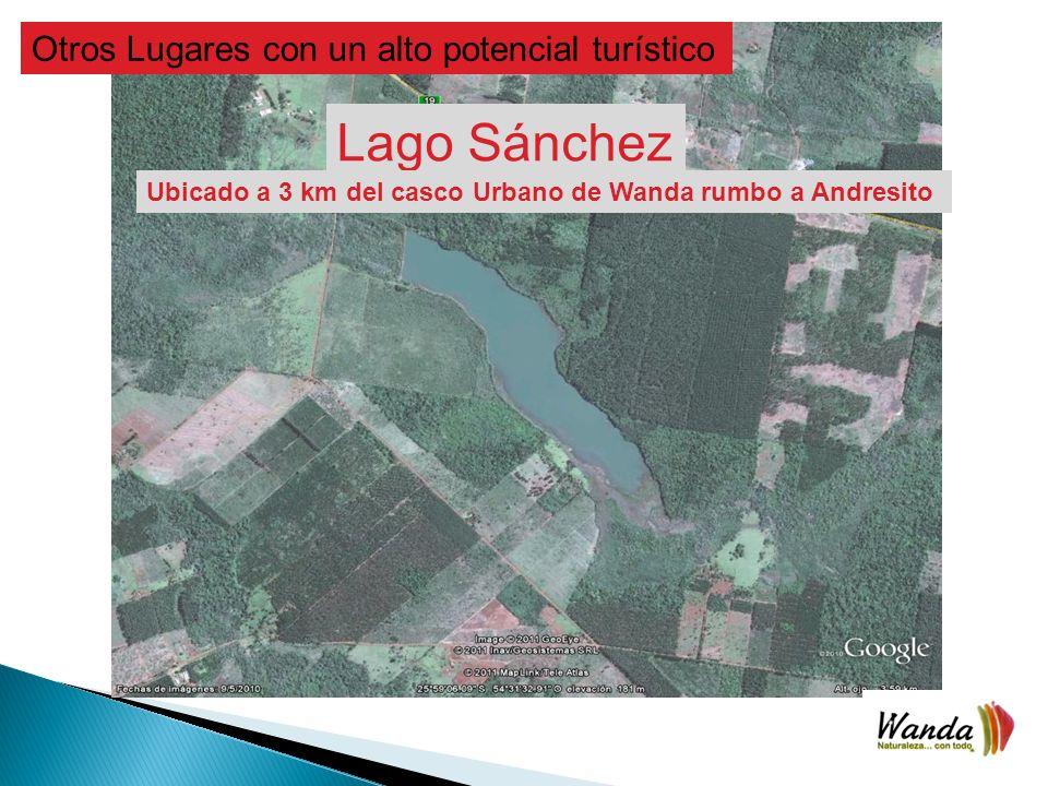 Lago Sánchez Otros Lugares con un alto potencial turístico