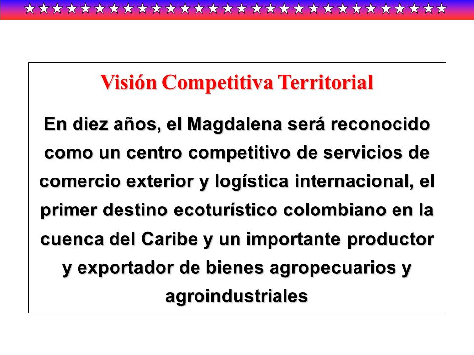 Visión Competitiva Territorial