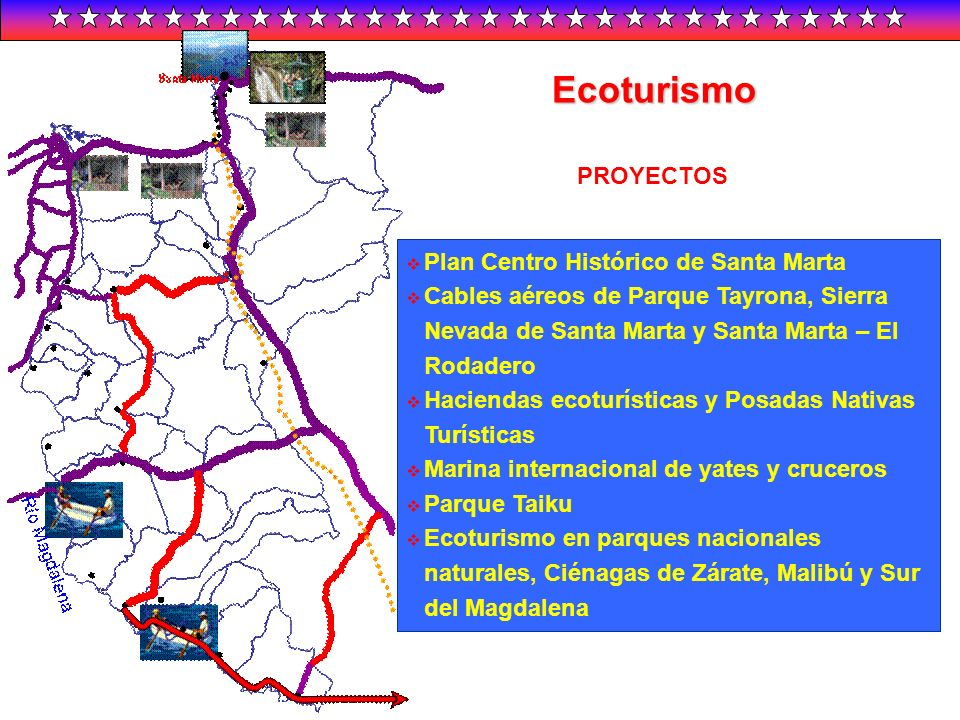 Ecoturismo PROYECTOS Plan Centro Histórico de Santa Marta