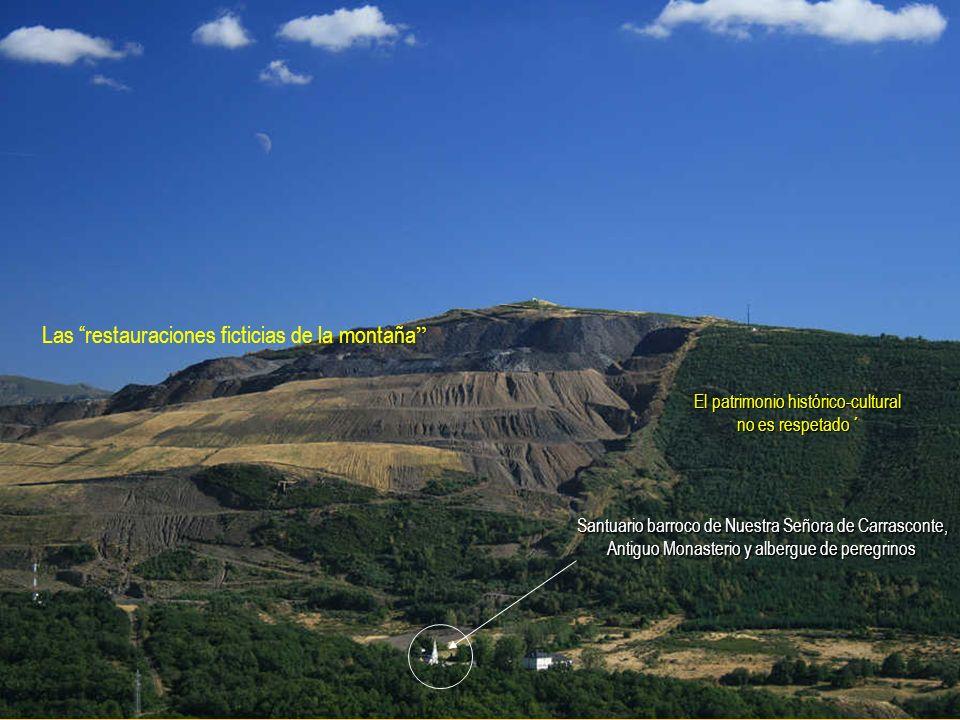 Las restauraciones ficticias de la montaña