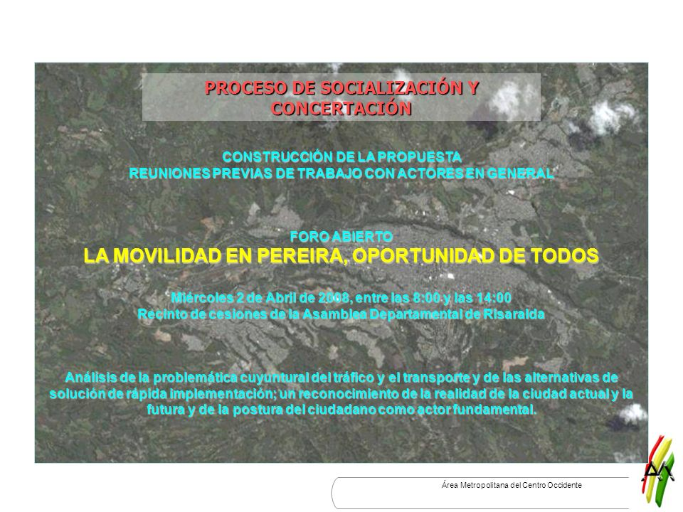 PROCESO DE SOCIALIZACIÓN Y CONCERTACIÓN