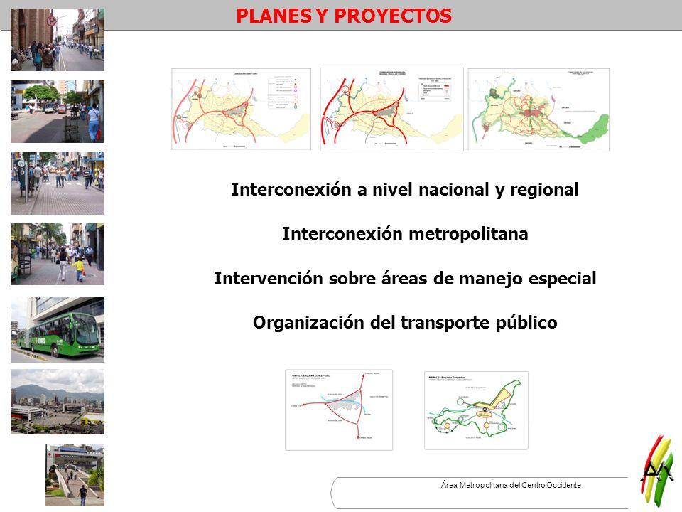 PLANES Y PROYECTOS Interconexión a nivel nacional y regional