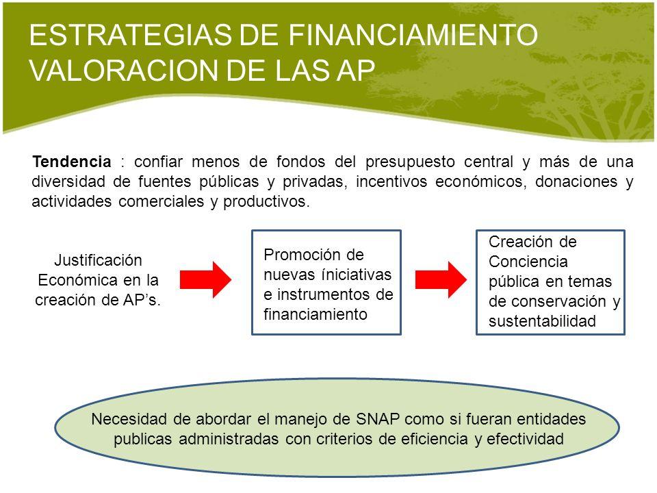 ESTRATEGIAS DE FINANCIAMIENTO VALORACION DE LAS AP