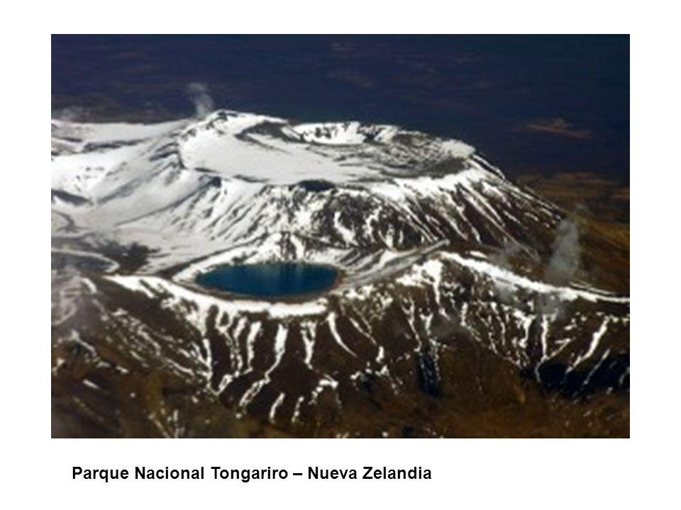 MEXICO - ORGANIGRAMA Parque Nacional Tongariro – Nueva Zelandia