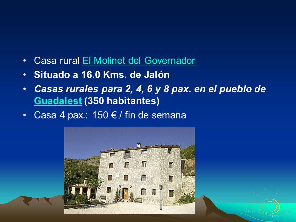 Casa rural El Molinet del Governador