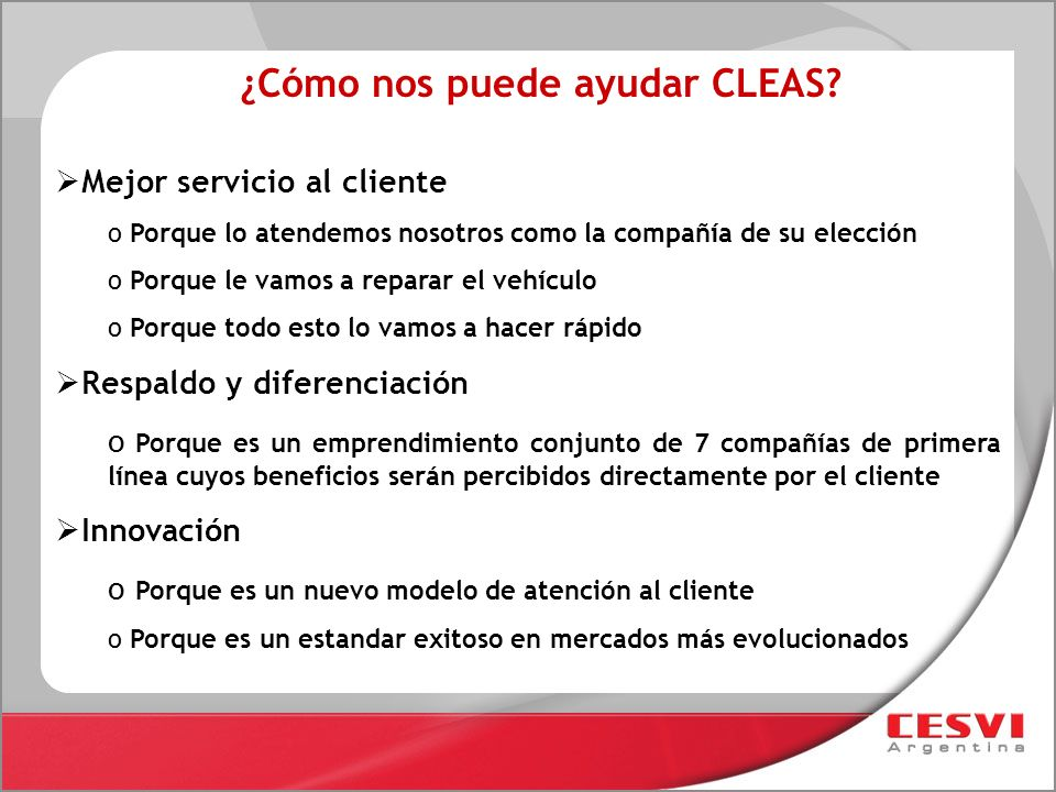 ¿Cómo nos puede ayudar CLEAS
