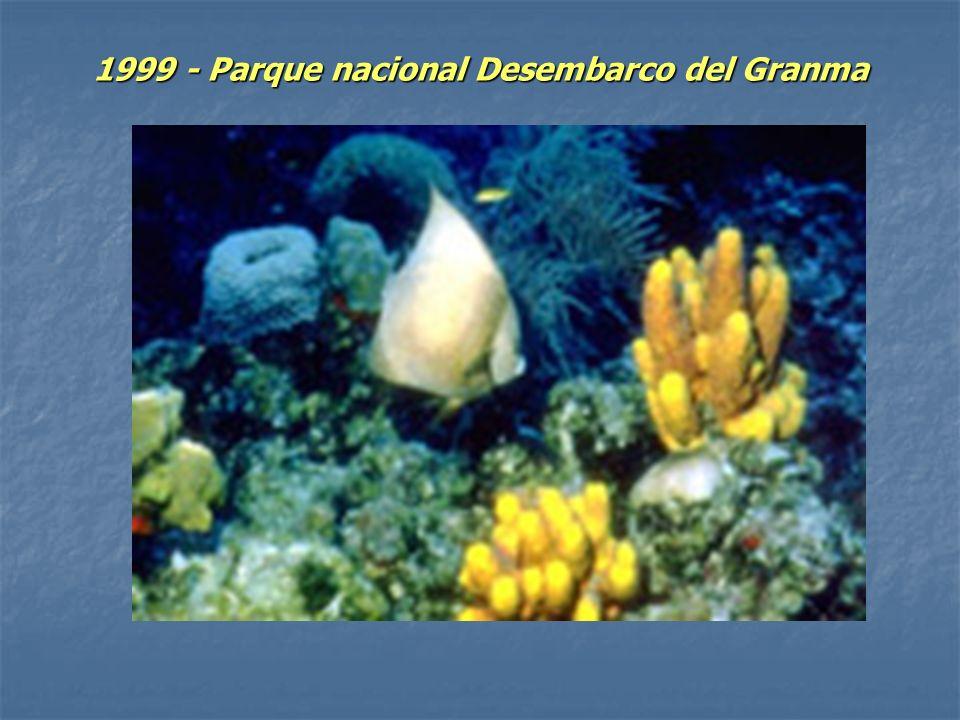 1999 - Parque nacional Desembarco del Granma